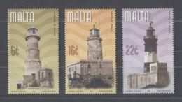 Malta - 2001 Lighthouses MNH__(TH-12490) - Malta