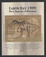 Micronesia - 1999 Prehistoric Animals Block (2) MNH__(THB-3774) - Mikronesien