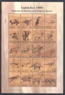 Micronesia - 1999 Prehistoric Animals Sheet MNH__(THB-5748) - Mikronesien