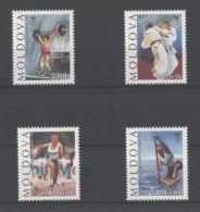 Moldova - 1996 Atlanta MNH__(TH-18242) - Moldawien (Moldau)