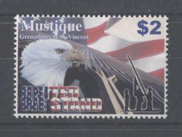 Mustique - 2003 Terrorist Attack MNH__(TH-10646) - St.-Vincent En De Grenadines