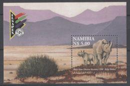Namibia - 1998 ILSAPEX '98 Block MNH__(TH-13655) - Namibia (1990- ...)