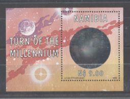 Namibia - 1999 World Globe Block MNH__(TH-8580) - Namibia (1990- ...)