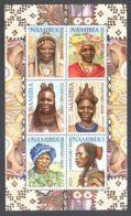 Namibia - 2002 Native Women Type I Kleinbogen (1) MNH__(THB-1534) - Namibia (1990- ...)