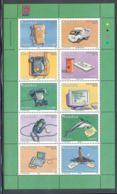 Namibia - 2002 Telecom And Nampost Type I Kleinbogen MNH__(THB-1503) - Namibia (1990- ...)
