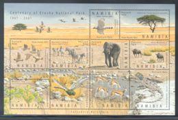 Namibia - 2007 Etosha National Park Kleinbogen MNH__(THB-1640) - Namibia (1990- ...)