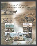 Namibia - 2007 Mammals Block MNH__(THB-4557) - Namibia (1990- ...)