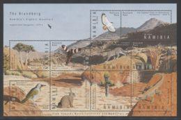 Namibia - 2009 Nature On Brandberg Kleinbogen MNH__(THB-4257) - Namibia (1990- ...)
