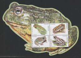 Namibia - 2011 Frogs Block MNH__(FIL-7285) - Namibia (1990- ...)