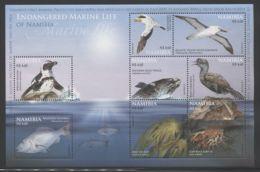 Namibia - 2011 Sea Life Block MNH__(THB-2045) - Namibia (1990- ...)