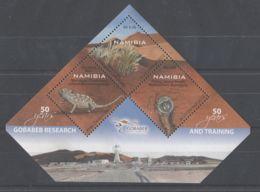 Namibia - 2012 Training Station Gobabeb Block MNH__(TH-9914) - Namibia (1990- ...)
