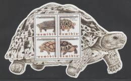 Namibia - 2016 Tortoises Block MNH__(THB-2089) - Namibia (1990- ...)
