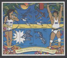 Nauru - 1996 Summer Olympics Block MNH__(FIL-6579) - Nauru