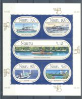 Nauru - 1999 History Of Seafaring Block MNH__(TH-6932) - Nauru