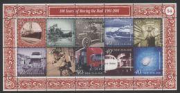 New Zealand - 2001 Postal Transportation Type I Kleinbogen MNH__(THB-3615) - Blocks & Kleinbögen