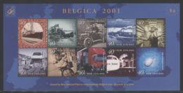 New Zealand - 2001 Postal Transportation Type II Kleinbogen MNH__(THB-3596) - Blocks & Kleinbögen