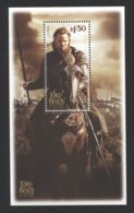 New Zealand - 2003 Lord Of The Rings 1.3$ Block MNH__(TH-5400) - Blocks & Kleinbögen