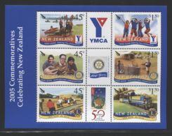 New Zealand - 2005 Rotary International Block MNH__(FIL-7292) - Blocks & Kleinbögen