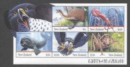 New Zealand - 2009 Animals Block (1) MNH__(THB-398) - Blocks & Kleinbögen