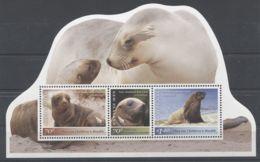 New Zealand - 2012 Auckland Sea Lion Block MNH__(TH-7179) - Blocks & Kleinbögen