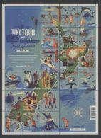 New Zealand - 2012 Journey Through New Zealand Sheet MNH__(THB-5268) - Neuseeland