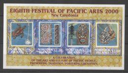 Norfolk Island - 2000 Pacific Art Festival Block MNH__(TH-15187) - Norfolk Island