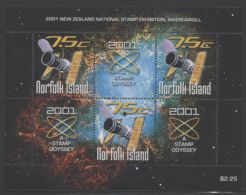 Norfolk Island - 2001 STAMP ODYSSEY Block MNH__(THB-1637) - Norfolk Island