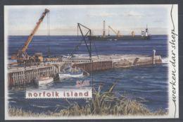 Norfolk Island - 2004 Unload The Supply Ships Block MNH__(TH-1198) - Norfolk Island