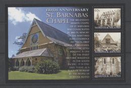 Norfolk Island - 2010 St. Barnabas Chapel Block MNH__(TH-17993) - Norfolk Island