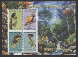Papua New Guinea - 2008 Birds Of Paradise Block (1) MNH__(THB-2215) - Papua-Neuguinea