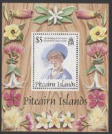 Pitcairn Islands - 1995 Queen Mother Block MNH__(THB-3760) - Briefmarken