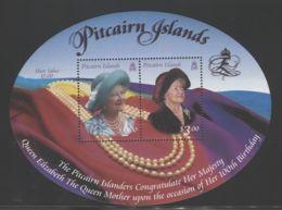Pitcairn Islands - 2000 Queen Mother Block MNH__(THB-3754) - Briefmarken