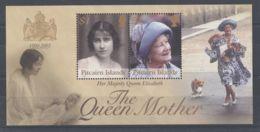 Pitcairn Islands - 2002 Queen Mother Block MNH__(TH-1374) - Briefmarken