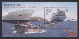 Pitcairn Islands - 2003 Blue Star Shipping Company Block MNH__(THB-4323) - Briefmarken