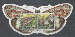 Pitcairn Islands - 2007 Butterflies Block MNH__(TH-8229) - Briefmarken