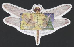 Pitcairn Islands - 2009 Dragonflies Block MNH__(THB-1512) - Briefmarken