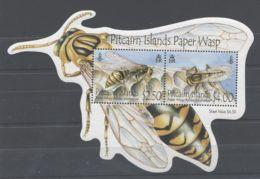Pitcairn Islands - 2011 Pitcairn Wasp Block MNH__(TH-10489) - Briefmarken