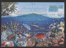 Pitcairn Islands - 2017 Marine Reserve Kleinbogen MNH__(FIL-10264) - Briefmarken