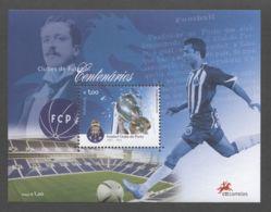 Portugal - 2005 100 Years Of Football Clubs Block (1) MNH__(TH-5035) - Blocks & Sheetlets