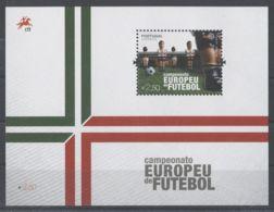 Portugal - 2012 European Football Championship Block MNH__(TH-829) - Blocks & Sheetlets
