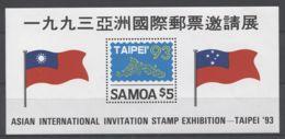 Samoa - 1993 TAIPEI '93 Block MNH__(TH-18884) - Samoa