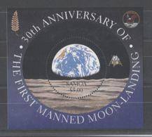 Samoa - 1999 Moon Landing Block MNH__(TH-8844) - Samoa