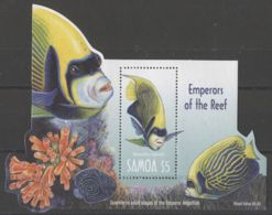 Samoa - 2003 Fishes Block MNH__(TH-18353) - Samoa