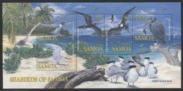 Samoa - 2004 Seabirds Block MNH__(THB-4339) - Samoa
