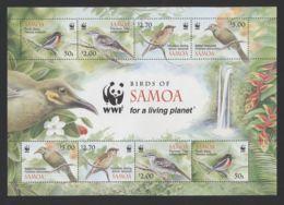 Samoa - 2009 Birds Kleinbogen MNH__(FIL-10656) - Samoa