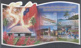 Samoa - 2012 Independence Block MNH__(TH-5608) - Samoa