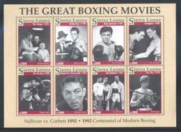 Sierra Leone - 1993 Boxing Kleinbogen (1) MNH__(THB-828) - Sierra Leone (1961-...)