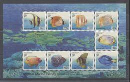 Singapore - 2001 Marine Fish Block MNH__(TH-11503) - Singapour (1959-...)