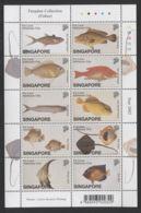 Singapore - 2002 Animals Kleinbogen (3) MNH__(THB-1431) - Singapore (1959-...)
