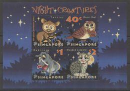 Singapore - 2003 Creatures Of The Night Block MNH__(TH-18354) - Singapore (1959-...)